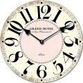 Dřevěné nástěnné hodiny - Grand Hotel