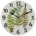 Dřevěné nástěnné hodiny - Kapradí