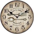 Dřevěné nástěnné hodiny - Kitchen