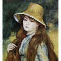 Auguste Renoir - Girl and golden hat