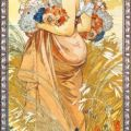 Alfons Mucha - Reprodukce - Sommer II