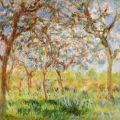 Claude Monet - Reprodukce - Spring in Giverny (Jaro v Giverny)